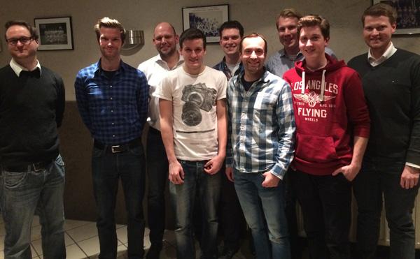 Vorstand TV Vorst Handballabteilung