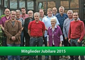 Mitglieder Jubilare 2015
