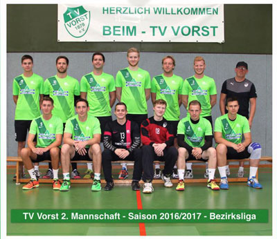 TV Vorst Handball ZWEITE, Kreisliga 2016/2017
