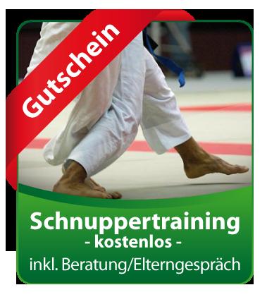 Jude-Gutschein-Schnuppertraining