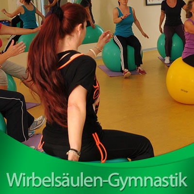 Wirbelsaeulen Gymnastik - Frauenturnen