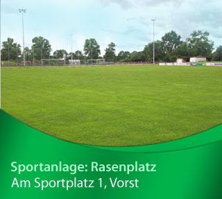 Sportanlage Vorst Rasenplatz