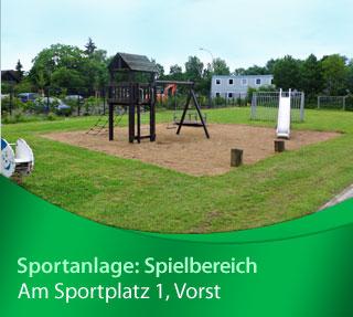 Sportanlage Vorst Spielbereich