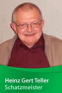 Schatzmeister Heinz Gert Teller