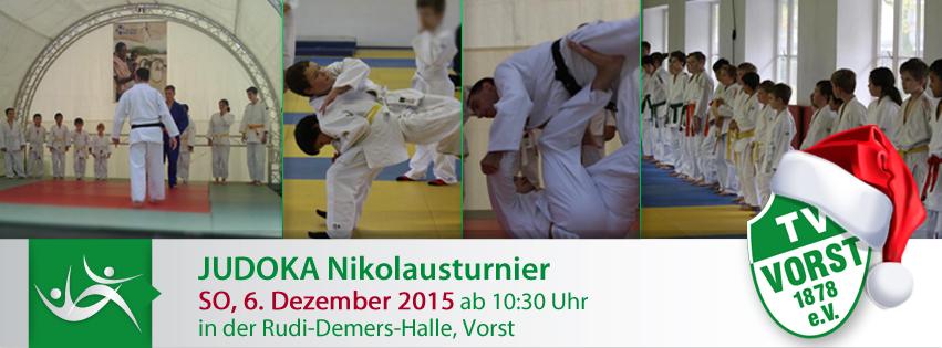 Judoka Nikolausturnier am Sonntag, 6. Dezember 2015
