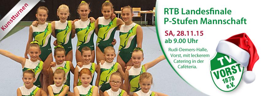 RTB Landesfinale P-Stufen Mannschaft in Vorst