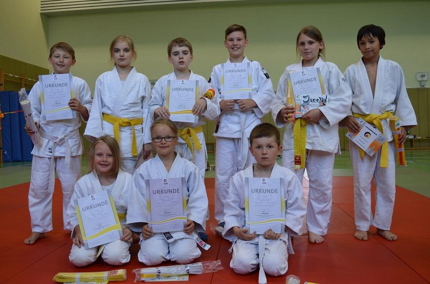 Judoka TV Vorst Gürtelprüfung 2016