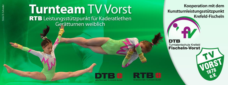 Turnteam TV Vorst RTB Leistungsstützpunkt