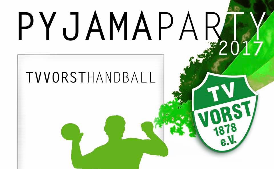 Handball Pyjamaparty 2017