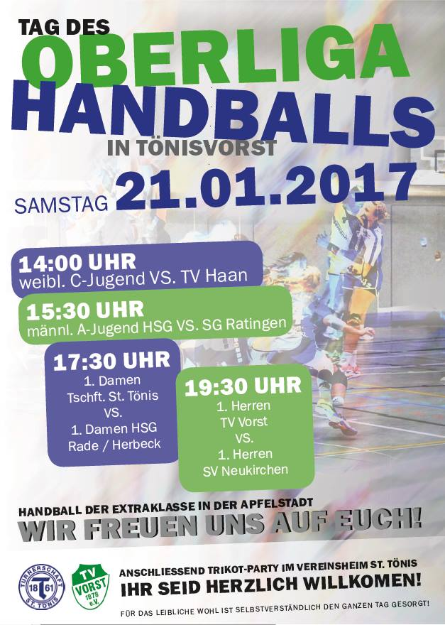 Tag des Oberliga Handballs 2016