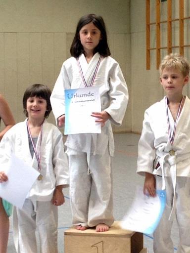Stadtmeisterin Kempen 2017, Letizia Szekely, Judo