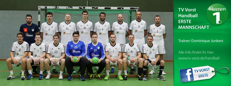 TV Vorst Handball ERSTE Mannschaft 2017/2018