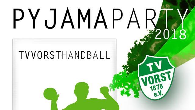 Handball Pyjama Party 2018