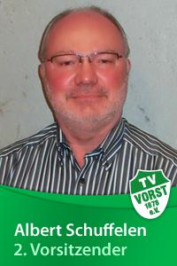 Albert Schuffelen, 2. Vorsitzender, TV Vorst