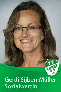 Gerdi Sjiben-Müller, Sozialwartin, TV Vorst