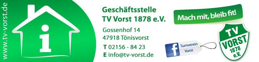 Geschäftsstelle TV Vorst