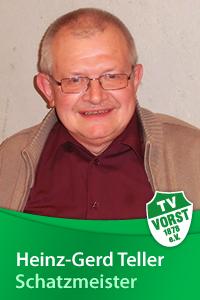 Heinz-Gerd Teller, 1. Kassierer, TV Vorst