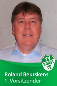 Roland Beurskens, 1. Vorsitzender, TV Vorst