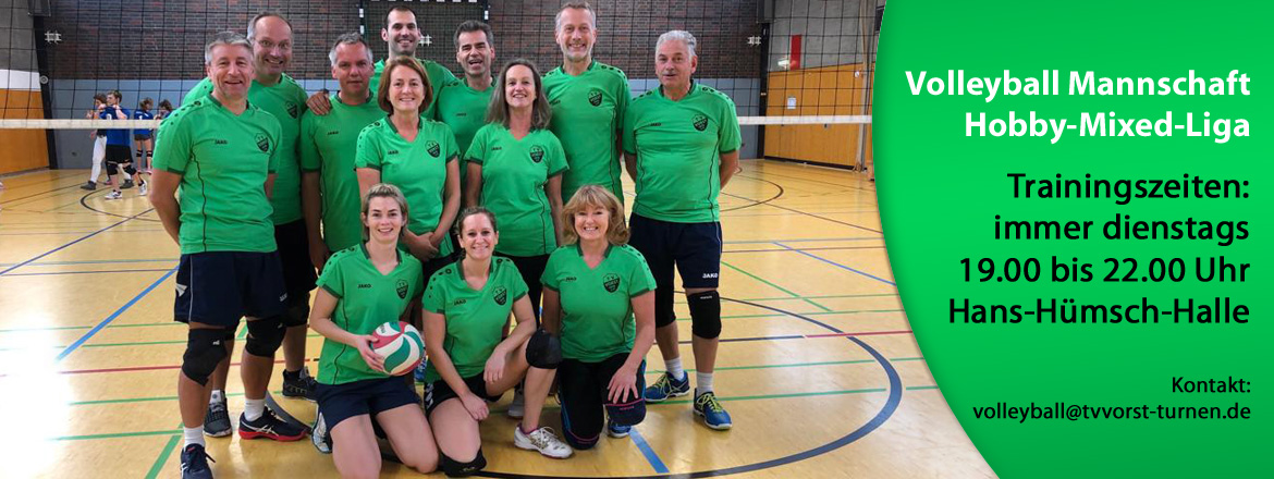 Volleyball TV Vorst Hobby Mixed Liga