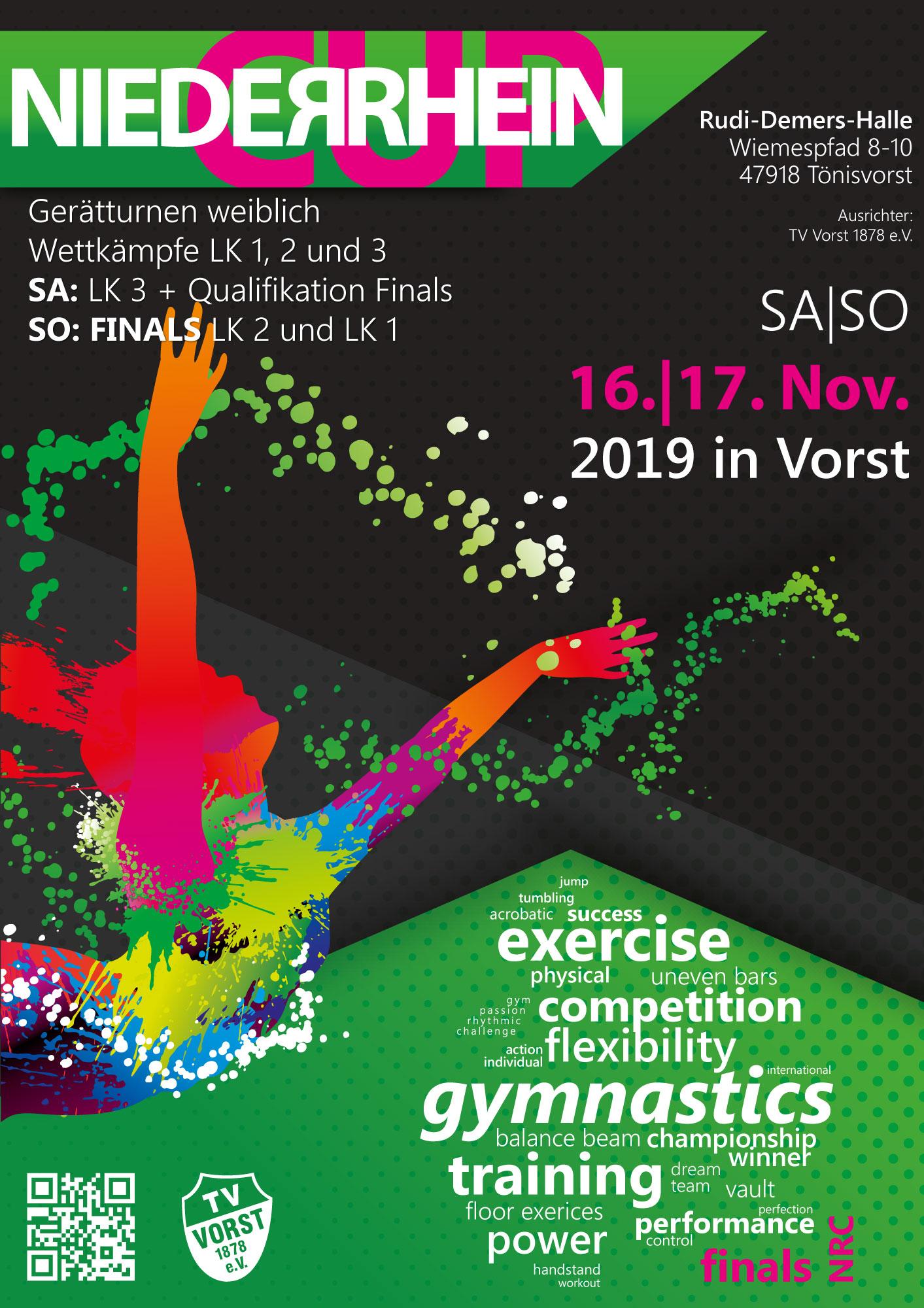 Niederrhein-Cup 2019 / SA und SO 16. /17.11.2019