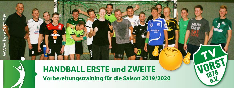 TV Vorst Handball ERSTE und ZWEITE Mannschaft