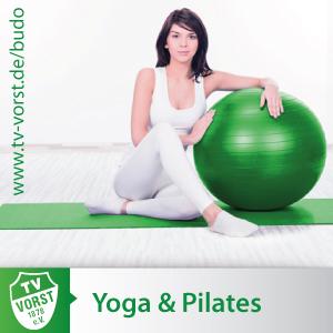 Yoga und Pilates beim TV Vorst 1878 e.V.