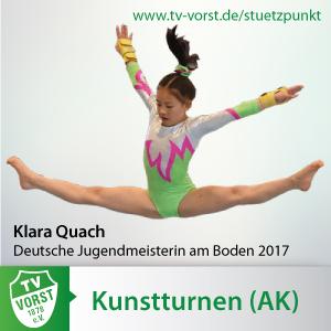 Kunstturnen AK Programm Olypische Frühförderung ab 5 Jahren