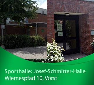 Josef-Schmitter-Halle, Wiemespfad 8, 47918 Tönisvorst
