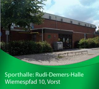 Rudi-Demers-Halle, Wiemespfad 8, 47918 Tönisvorst