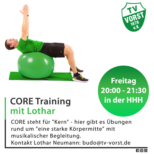 CORE Training mit Lothar Neumann