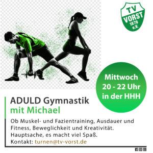 Aduld Gym Erwachsenen Fitness mit Michael Deitlaff