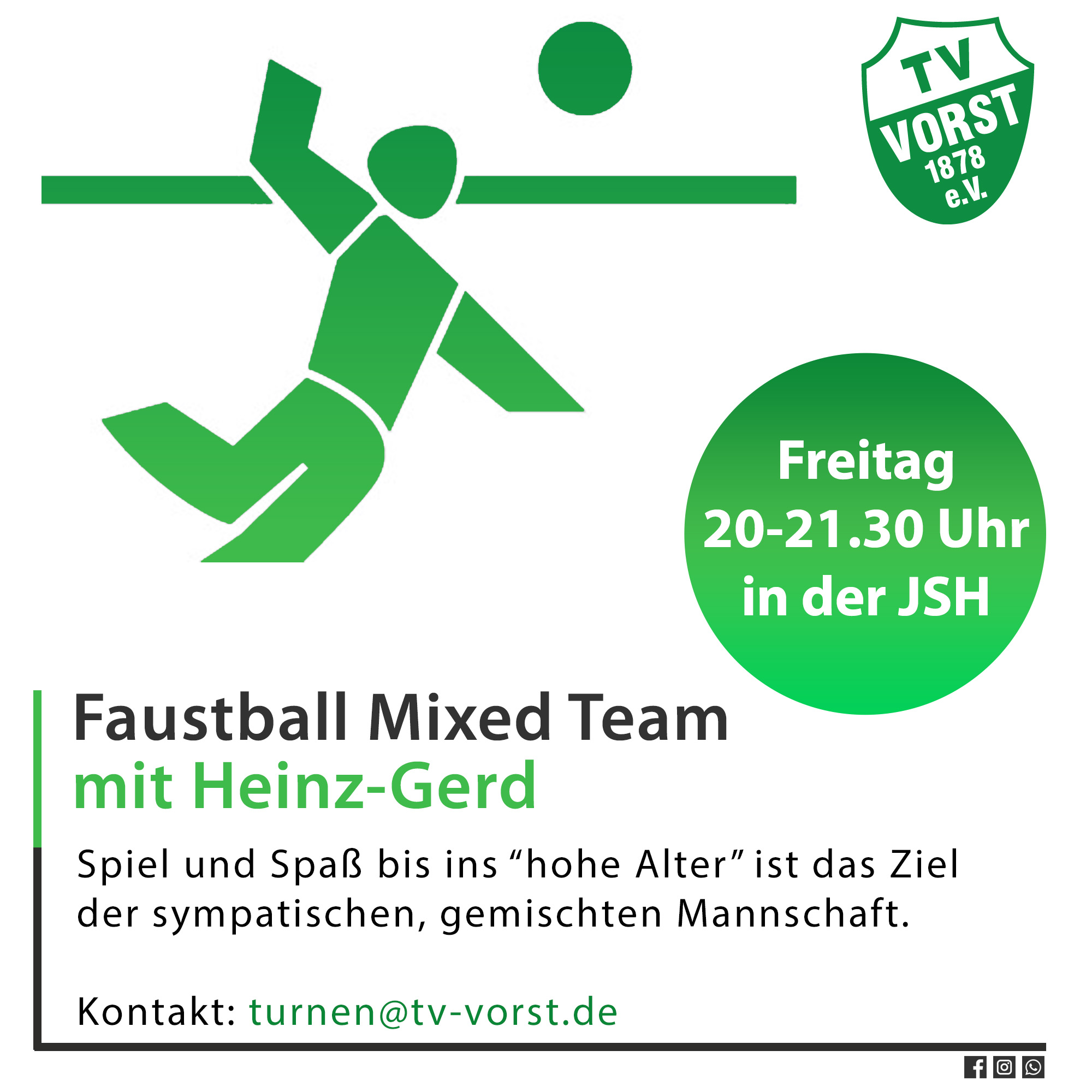 Faustball_ Mixed Team TV Vorst