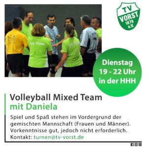 Volleyball Mixed Team TV Vorst