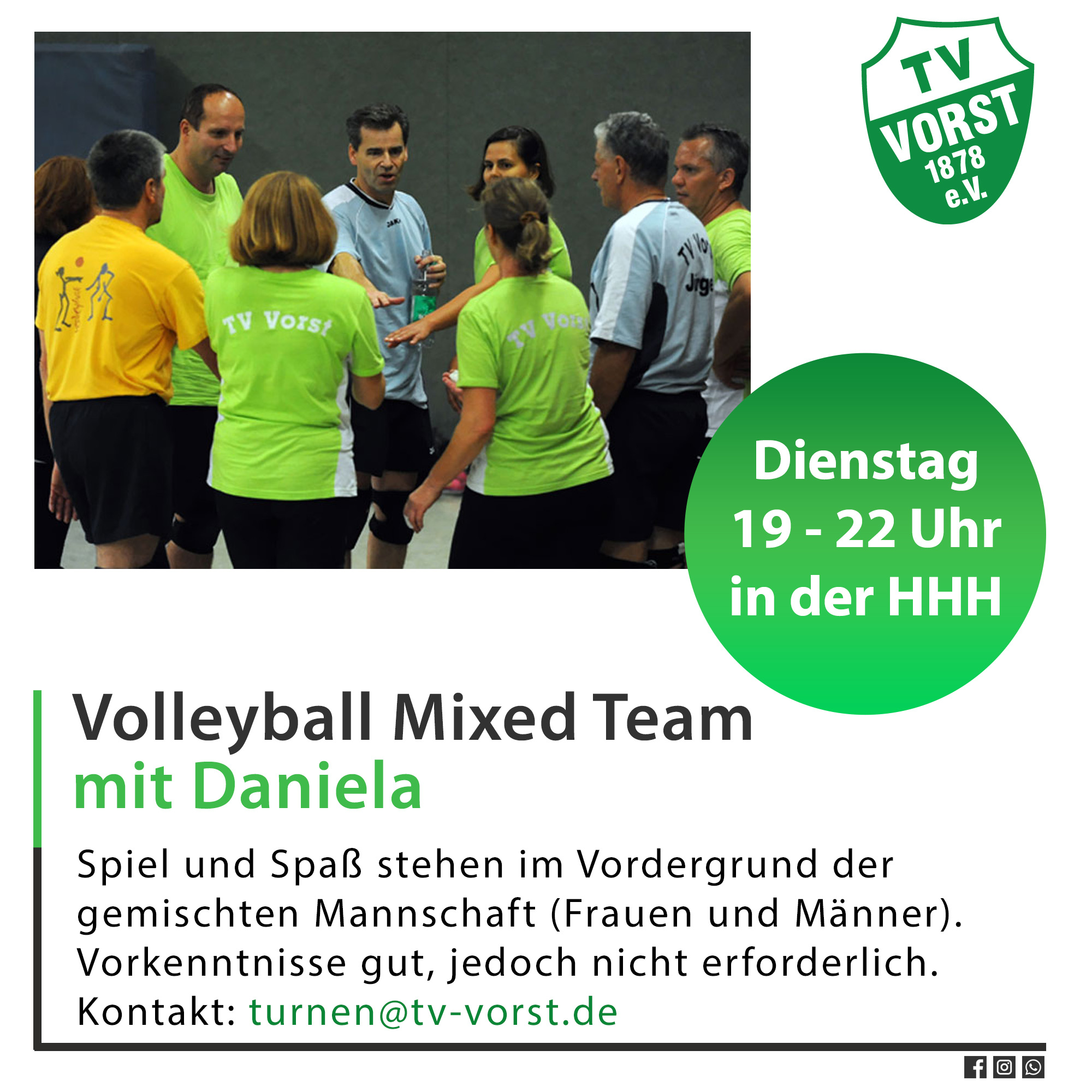 Volleyball Mixed Team TV Vorst